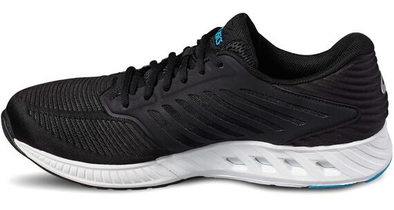 asics FuzeX Shoes Men black/black/island blue